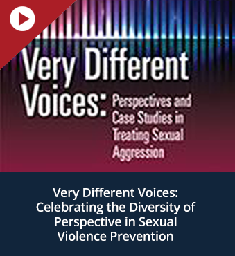 Very Different Voices: Celebrating the Diversity of Perspective in Sexual Violence Prevention