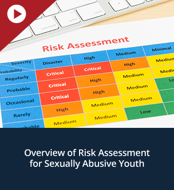 Overview of Risk Assessment for Sexually Abusive Youth